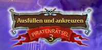 Ausfüllen und ankreuzen: Piratenrätsel 3
