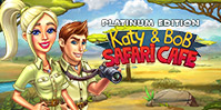 Katy and Bob: Safari Café Platinum Edition