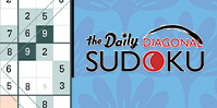Daily Diagonal Sudoku
