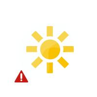 Unwetterwarnung Lauenau